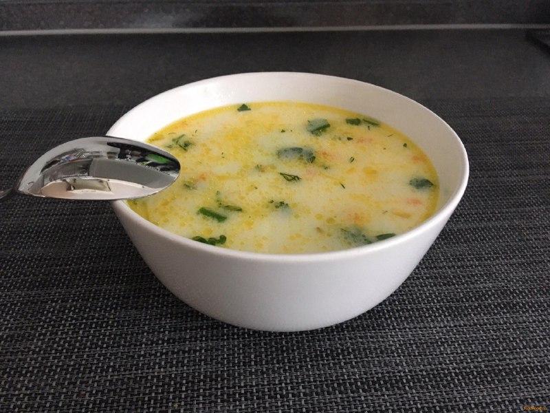 Суп из куриного филе